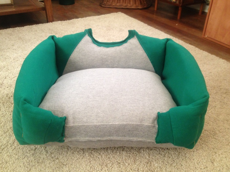 Как сшить подушку лежанку для кошек 60