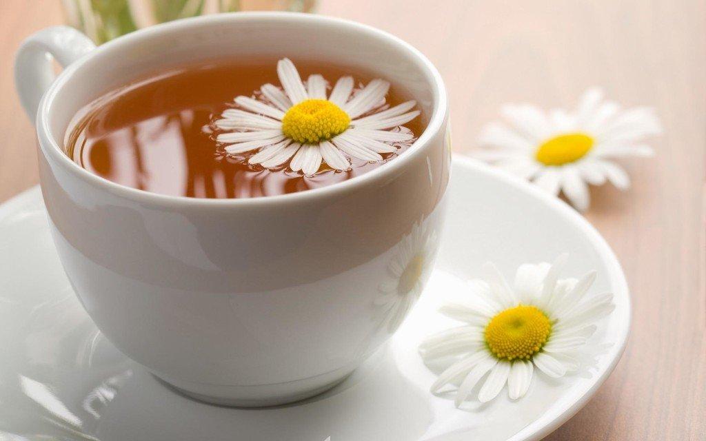 Чай из ромашки полезен при гепатите