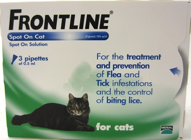 Фронтлайн - эффективное средство при лечении ушного клеща