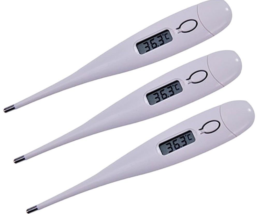 Лучше использовать ректальный термометр для измерения температуры кошке