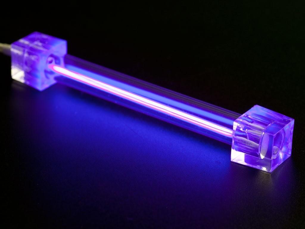 Ультрафиолетовая лампа помогает обнаружить лишай