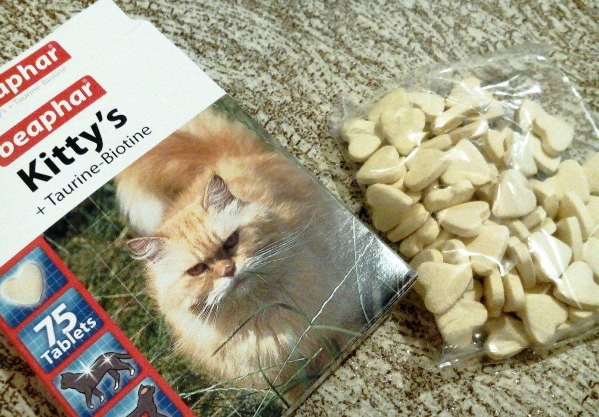 Среди популярных витаминных комплексов можно выделить Kitty's   Taurin   Biotin