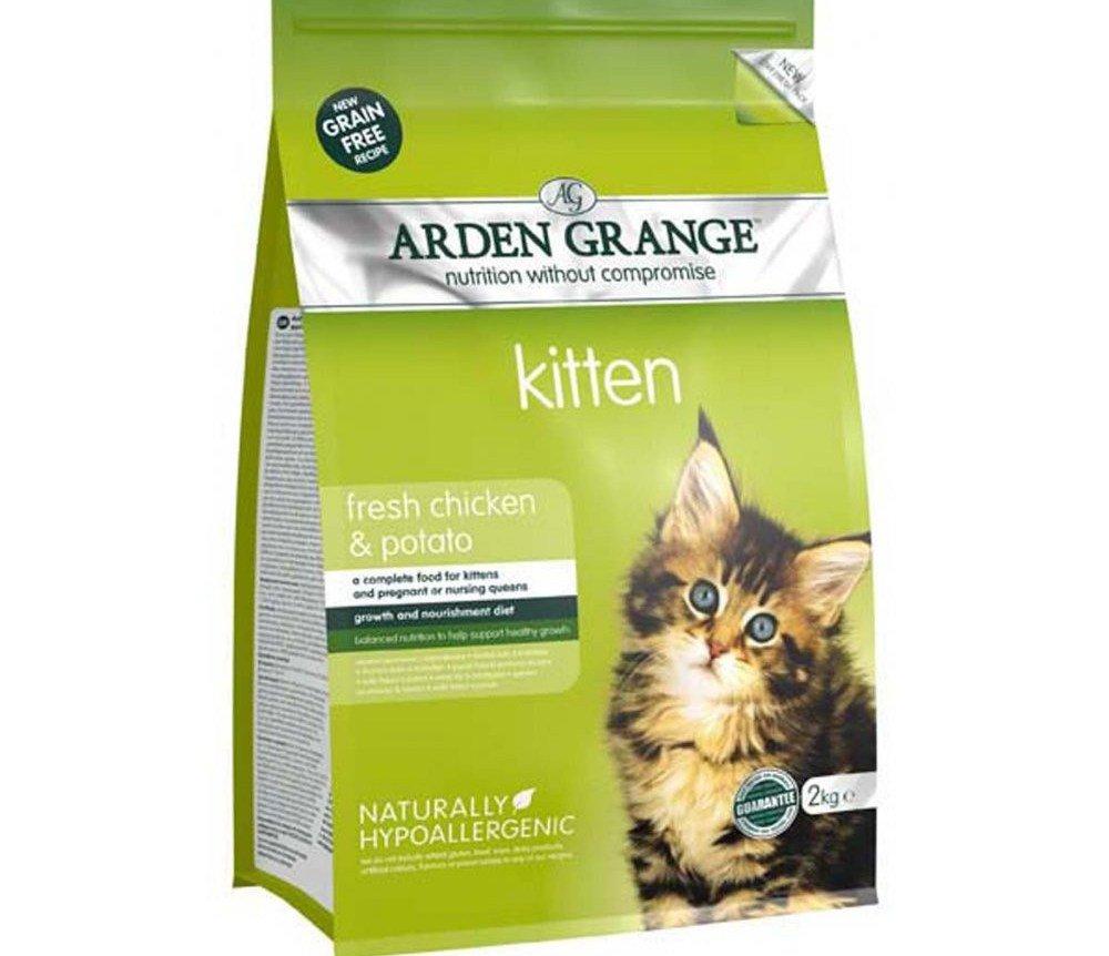 Arden Grange имеет ингредиенты высокого качества и достаточно калориен
