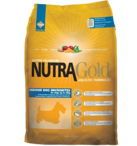 Nutra Gold Holistic Indoor Dog Microbites