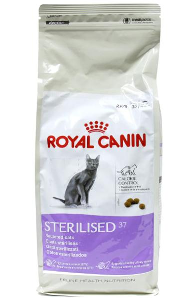 Royal Canin 37, профилактика избыточного веса для стерилизованных кошек