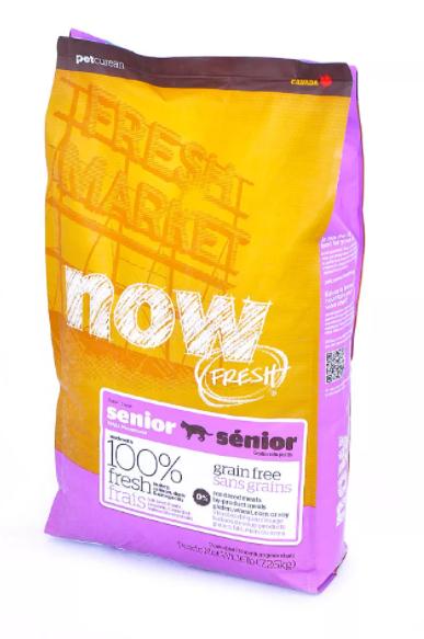 Now Fresh для профилактики избыточного веса, с лососем, индейкой и уткой для пожилых кошек